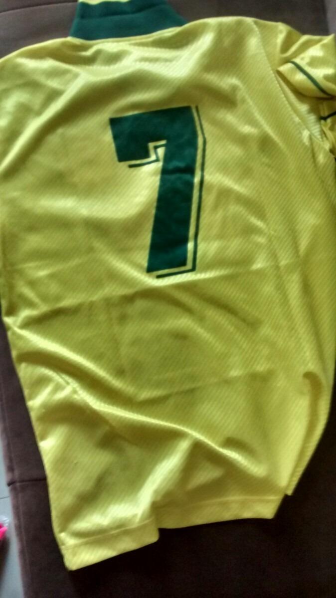 camisa da seleçao brasileira - brasil - copa 1994 - bebeto. Carregando zoom. 87f5296f794ce
