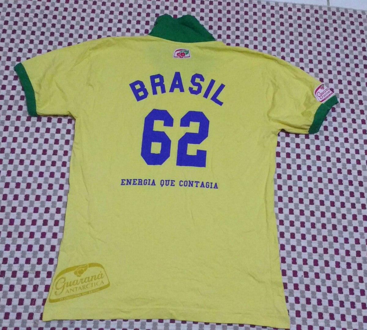 96f8d78e9 camisa da seleção brasileira 1962 retro amarela. Carregando zoom.