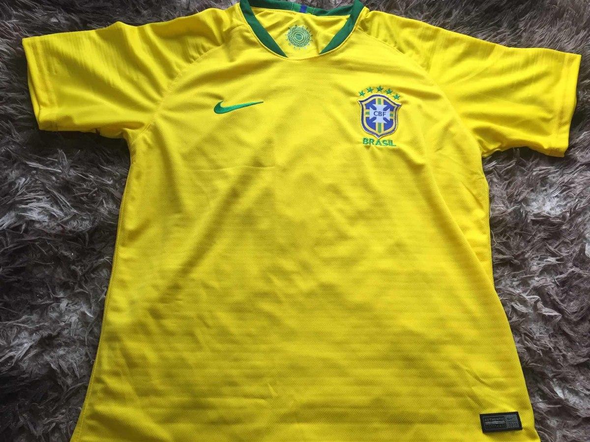 7c02fc4ae1 camisa da seleção brasileira brasil copa russia 2018 nova. Carregando zoom.