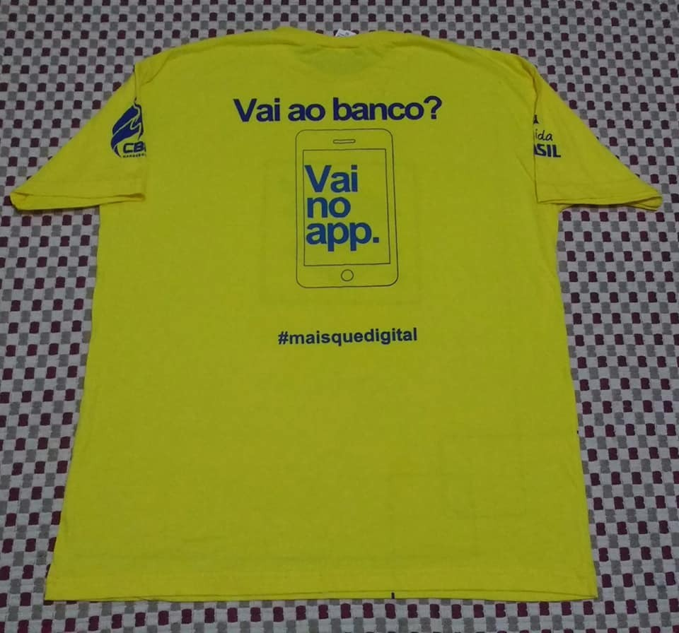c98670f0de camisa da seleção brasileira handebol torcida tam g. Carregando zoom.