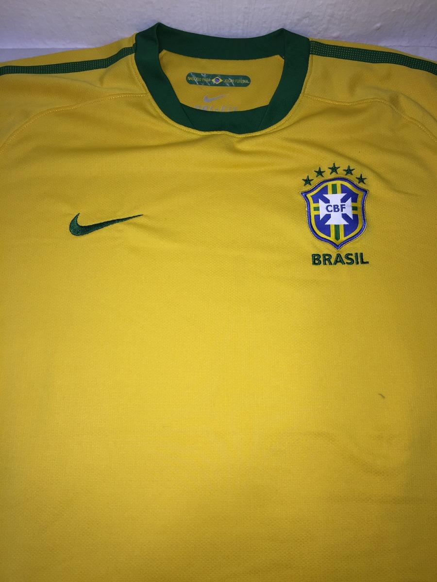 3d7957bd22 camisa da seleção brasileira nike nascido para jogar fu. Carregando zoom.