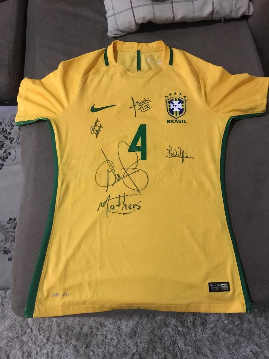 919c6d8494 camisa da seleção brasileira nike usada d alves autografada. Carregando  zoom.