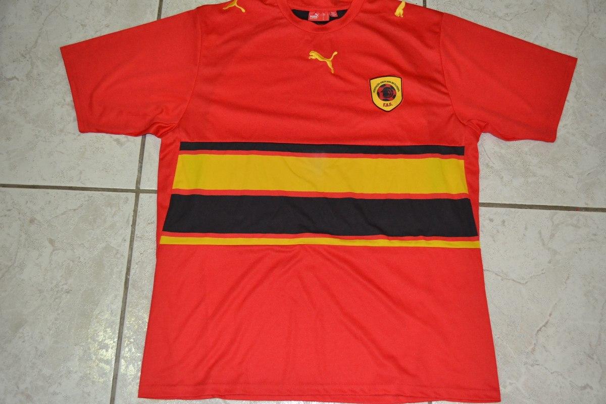 3ff9982fec4de Camisa Da Seleção Da Angola S n - G - Puma - R  68