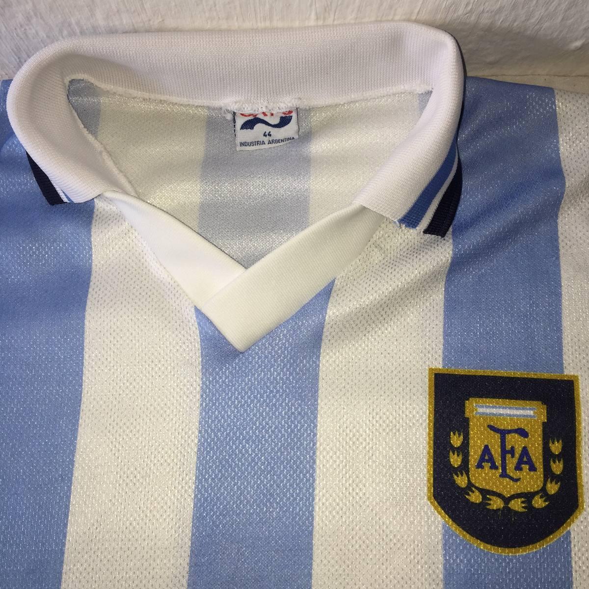 3fdfe50334 camisa da seleção da argentina retro. Carregando zoom.