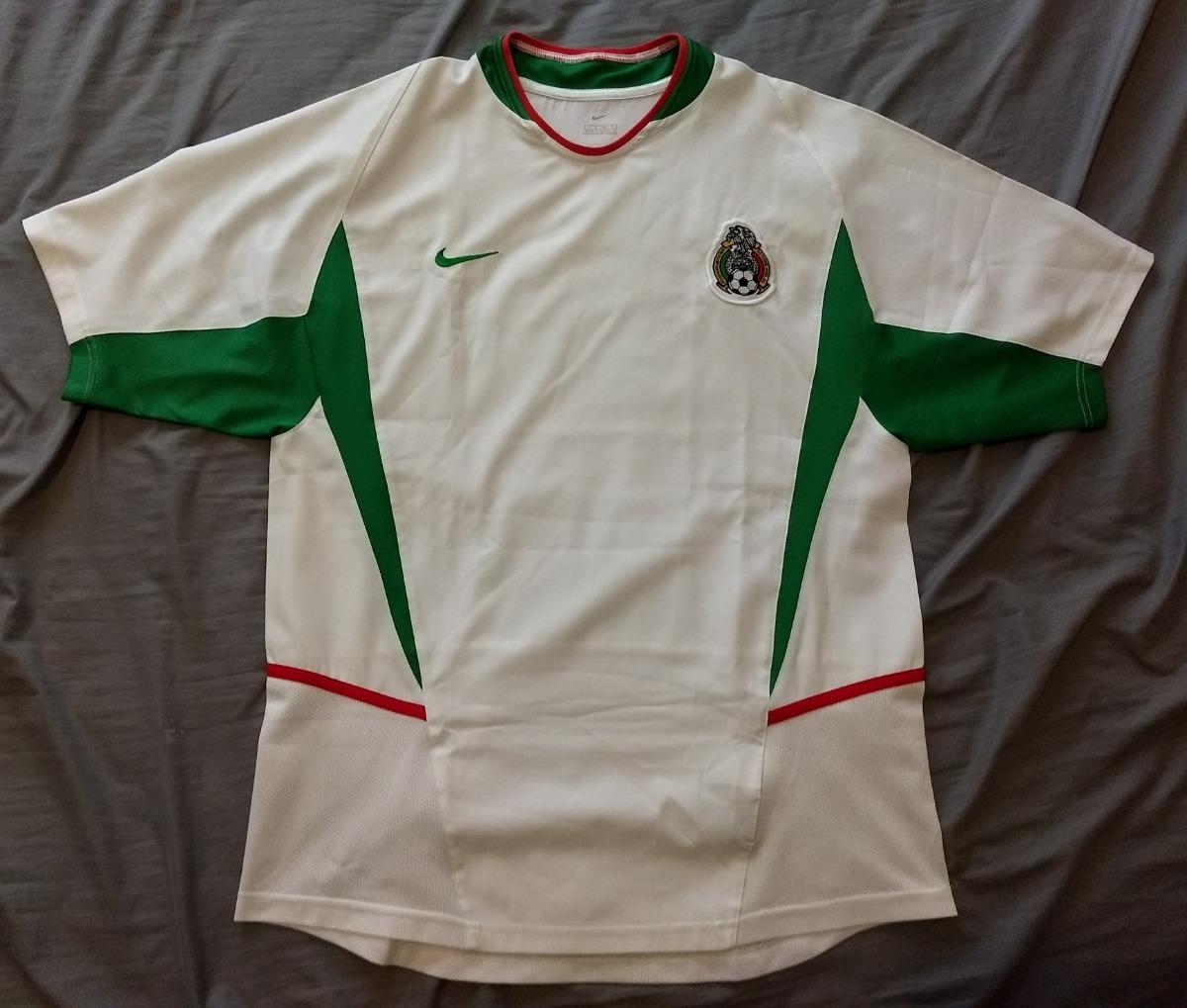 camisa da seleção do mexico nike 2002 away. Carregando zoom. e1502e280bf43