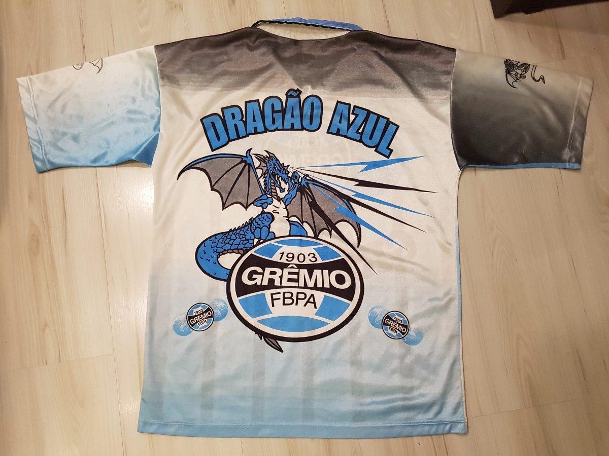 Camisa Da Torcida Dragão Azul Do Grêmio Sou Gremista - R  139 4c1afd676d78a