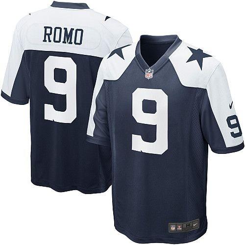 fa0f36fb4c66e Camisa Dallas Cowboys Romo  9 M Nfl Nike Throwback Original - R  200 ...