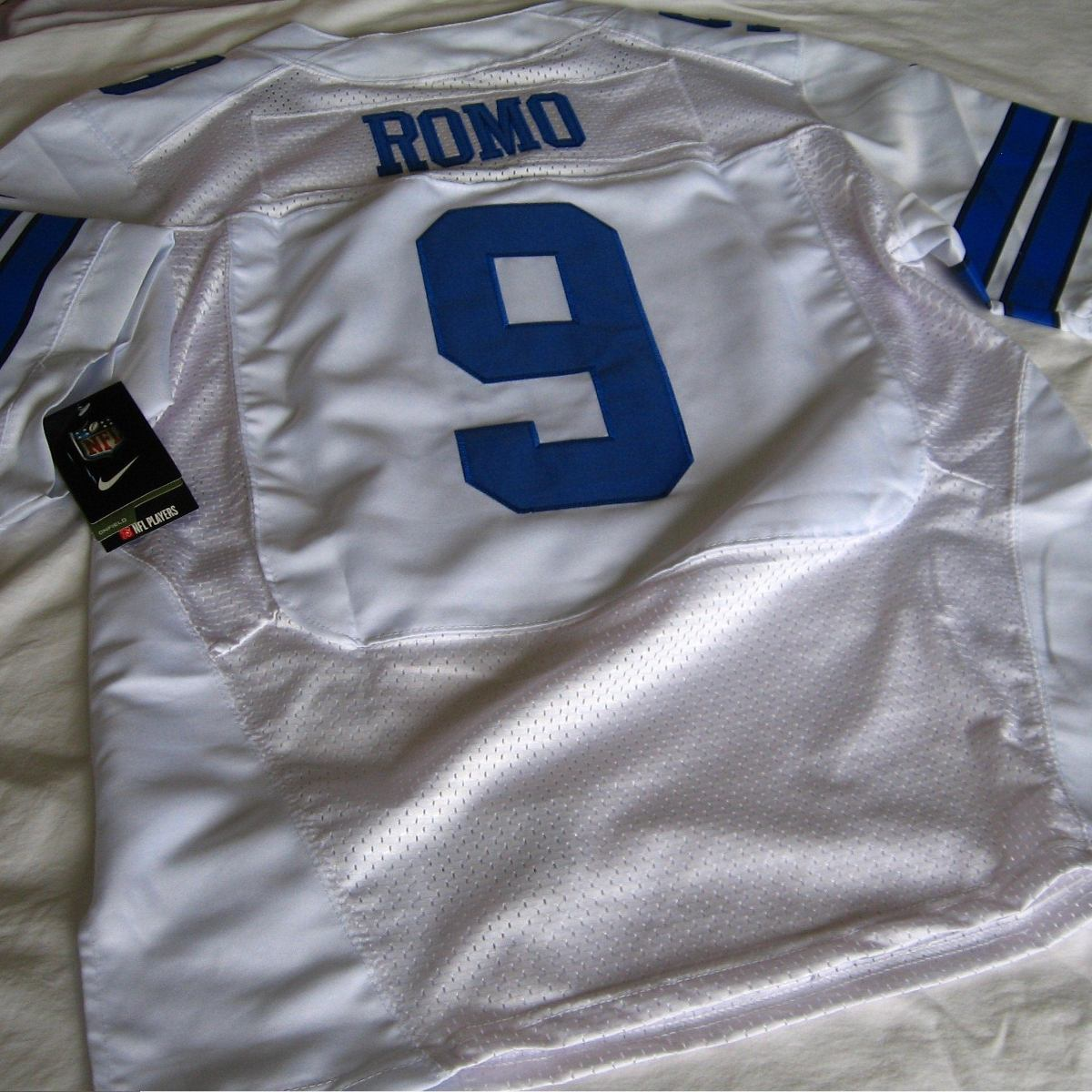 bf3d915b58 camisa dallas cowboys tony romo nfl - pronta entrega. Carregando zoom.