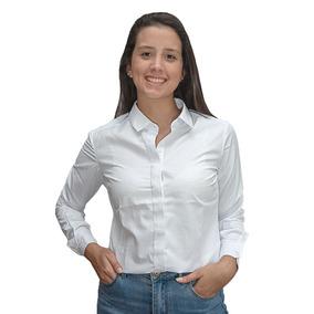 bc9c4c4f7f Camisa Dama Blanco Estampado Wanna slowly Bws-95