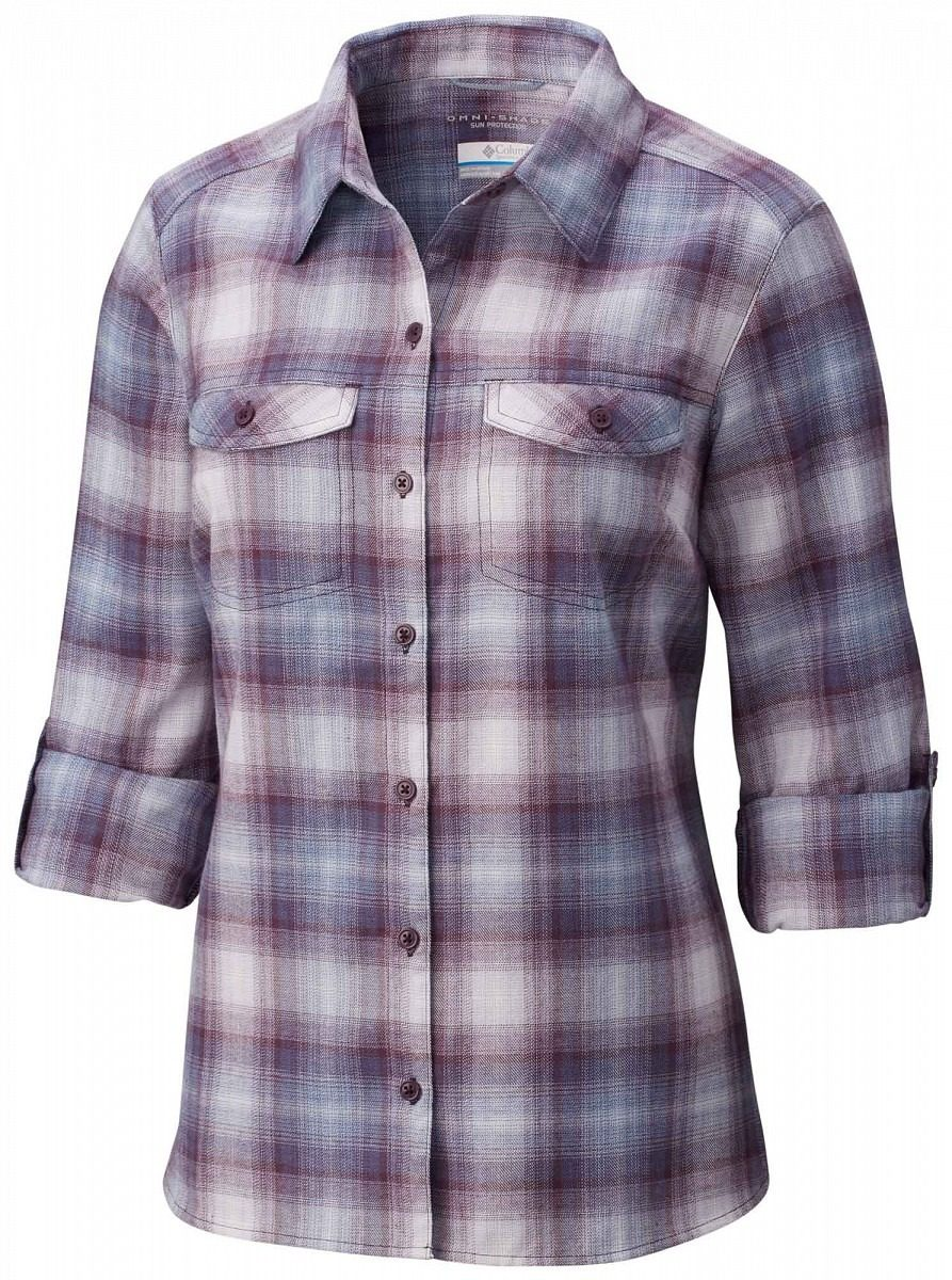 camisa dama columbia silver ridge long sleeve flannel. Cargando zoom. a297ea22889