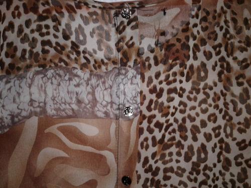 camisa dama gaza nueva! !!xl
