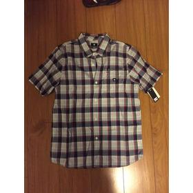 Camisa Dc Original M/corta  Nuev Talle Niño Xl ( T 16)