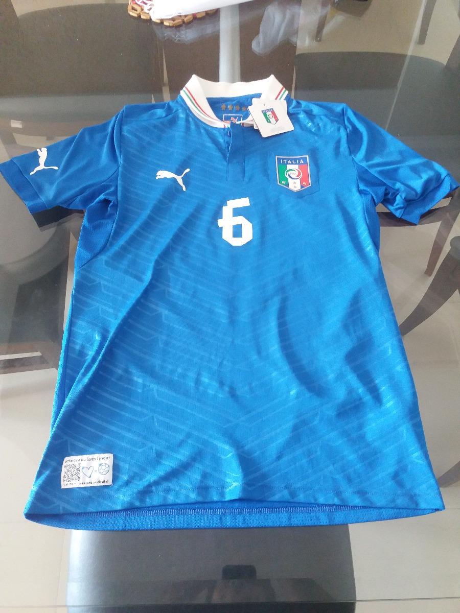 camisa de baresi italia 2012 euro eurocopa autentica. Carregando zoom. ac7fc9d56b61a
