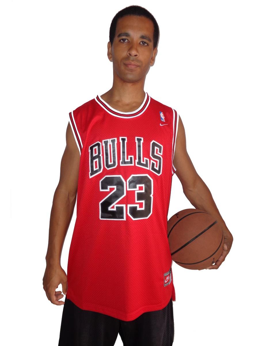 61fc1f8f8 camisa de basquete chicago bulls - 23 - michael jordan - nba. Carregando  zoom.