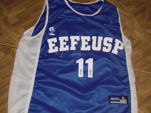 camisa de basquete da escola de educação física da usp