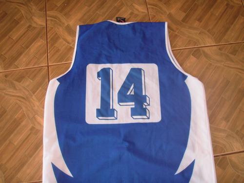 camisa de basquete fundação santo andre