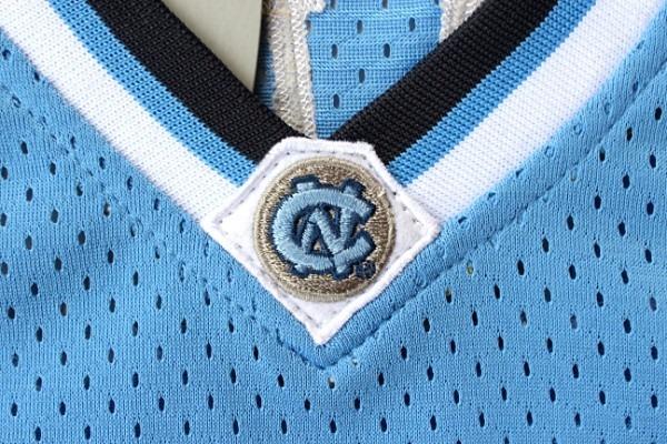 9e1229dbf Camisa De Basquete North Carolina - 23 - Michael Jordan Azul - R ...