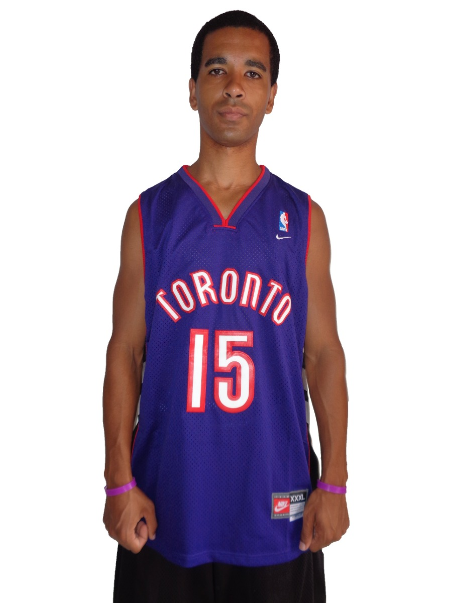 3683805f1 camisa de basquete toronto raptors - 15 - vince carter - nba. Carregando  zoom.