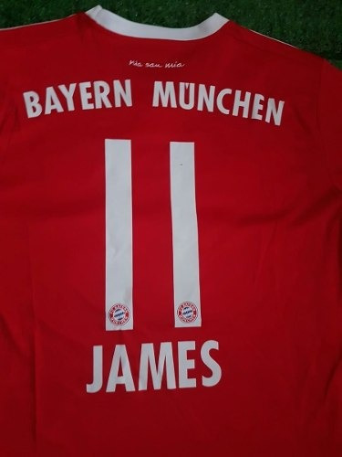 camisa de bayern munchen todas las tallas estampad james #11