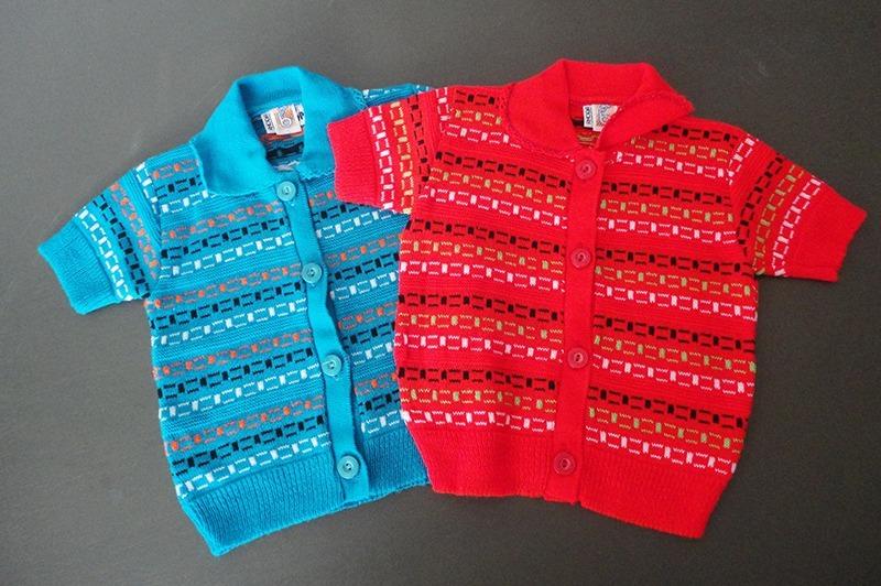 076da10f7 camisa de bebê vintage anos 70 cores variadas. Carregando zoom.