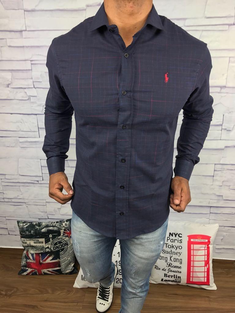 125b0a2eb87a1 Camisa De Botão Social Jeans