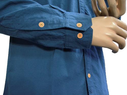 camisa de caballero - manga larga - cat - m2610267-l