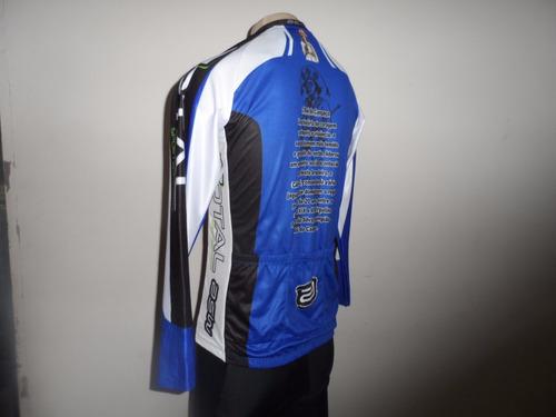 camisa de ciclismo asw active ml - lampião