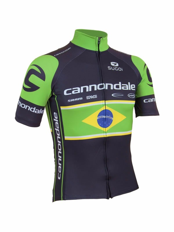 8b72b47631 camisa de ciclismo cannondale brasil 2017. Carregando zoom.