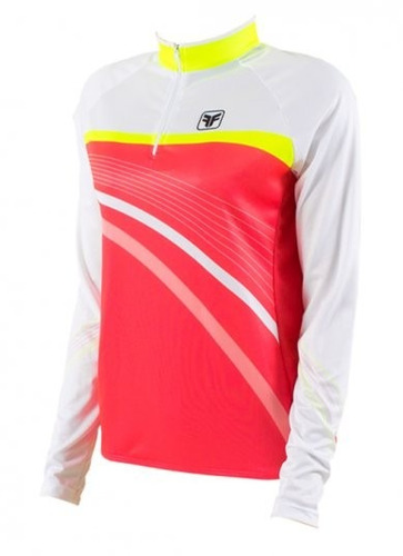 camisa de ciclismo fem. freeforce trail