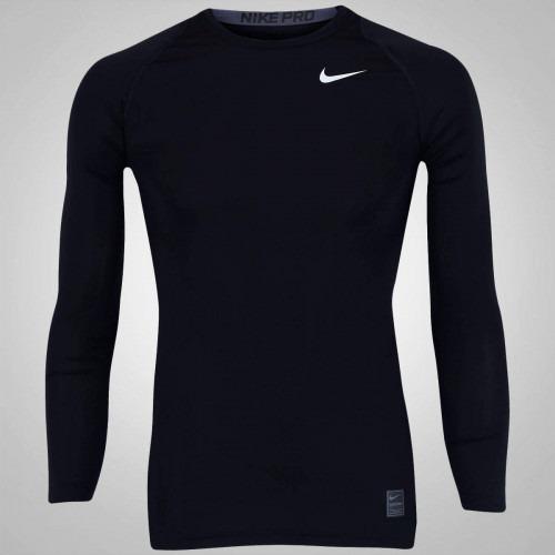 4aed85c98d815 Camisa De Compressão Manga Longa Nike Pro Cool - Masculina - R  90 ...