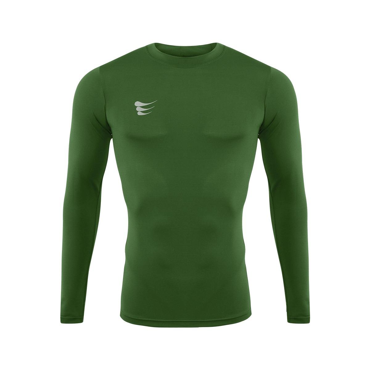 8ef1e03a0d camisa de compressão manga longa - super bolla - verde. Carregando zoom.