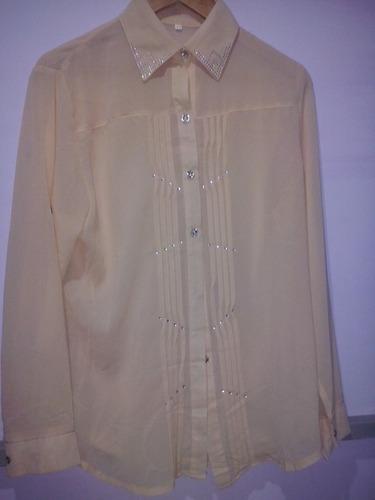camisa de crepe