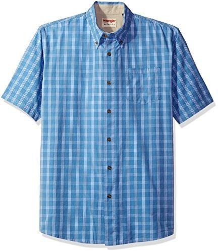 f2dfb882b68 Camisa De Cuadros Clásica De Manga Corta Para Hombres Wra ...