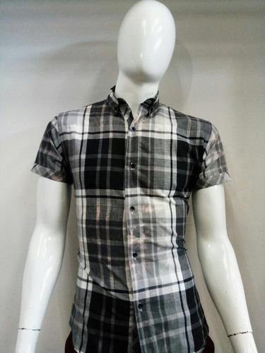 camisa de cuadros men