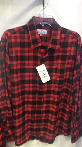 camisa de franela colores únicos talla x l