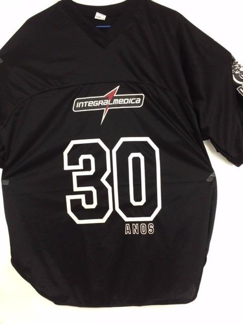 307044b05 Camisa De Futebol Americano Linha Darkness - Integralmédica - R  99 ...