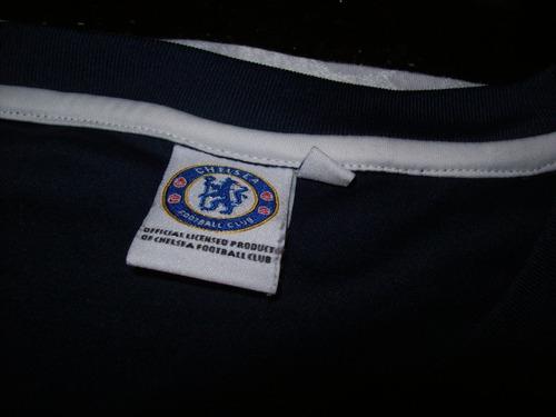 camisa de futebol chelsea - tamanho xl - azul marinho