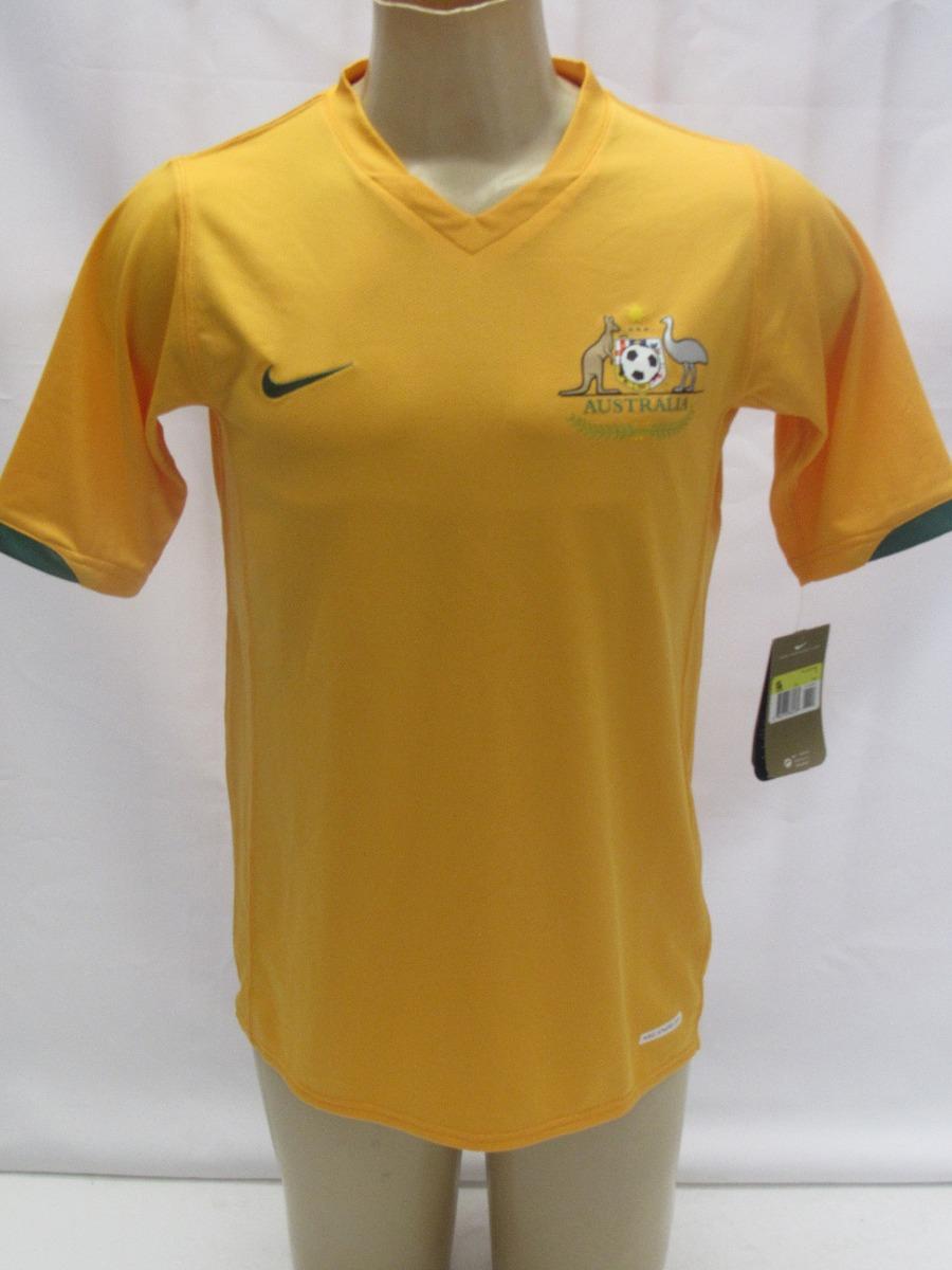8e7003b7eb24b Camisa De Futebol Da Seleção Da Austrália - Amarela - Nike - R  149 ...