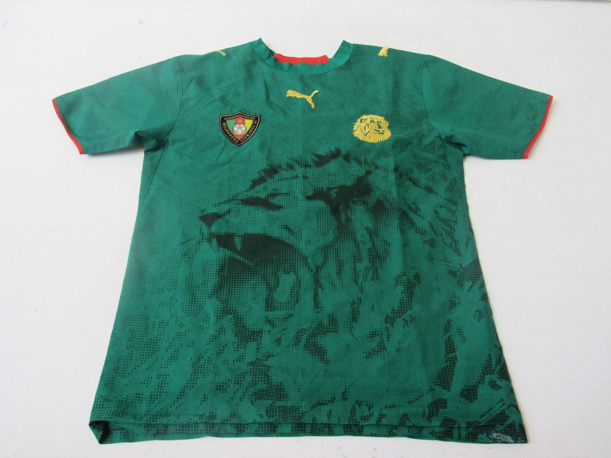f3f7af7a8605d camisa de futebol da seleção de camarões - puma mc01. Carregando zoom.