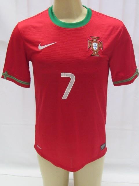6e691dd1fe Camisa De Futebol Da Seleção Portugal  7 Cristiano Ronaldo - R ...