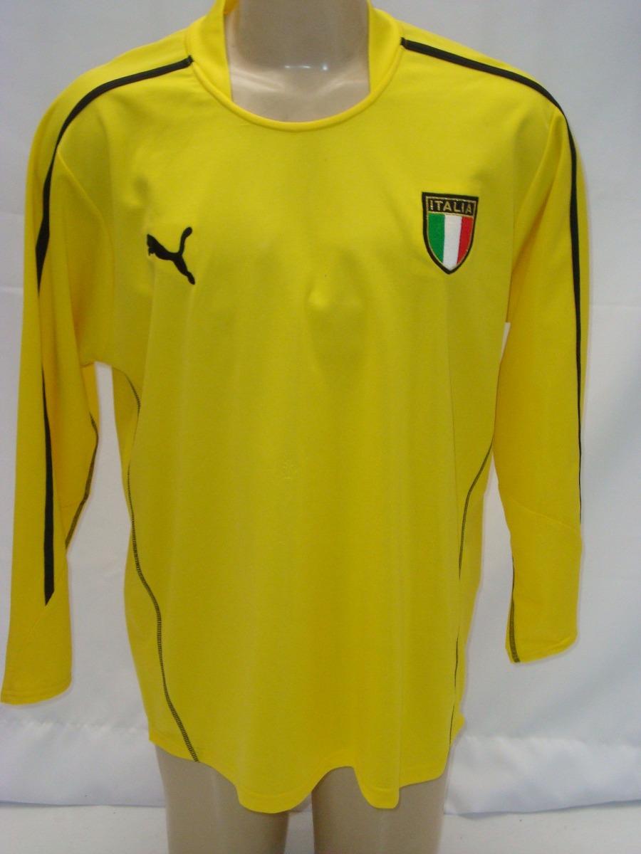 a063d64b6af4f Camisa De Futebol De Goleiro Da Seleção Itália - Buffon - R  159