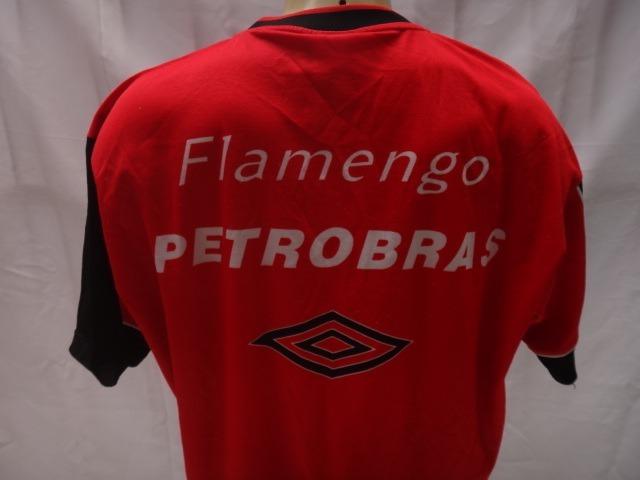 Camisa De Futebol De Treino Do Flamengo Umbro Lubrax Anos 90 - R  75 ... 703afe531fd70
