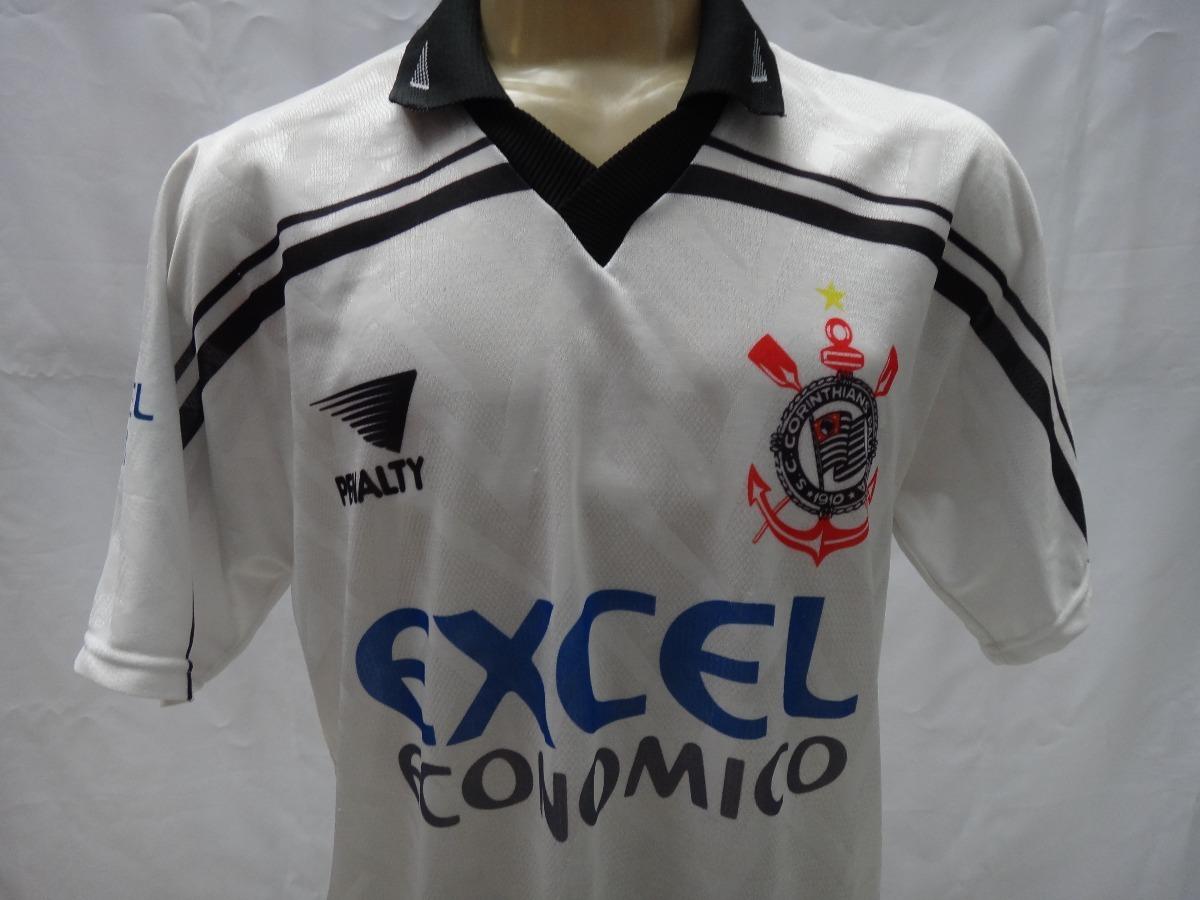 camisa de futebol do corinthians   10 1997 penalty excel. Carregando zoom. a7f6df0163e11