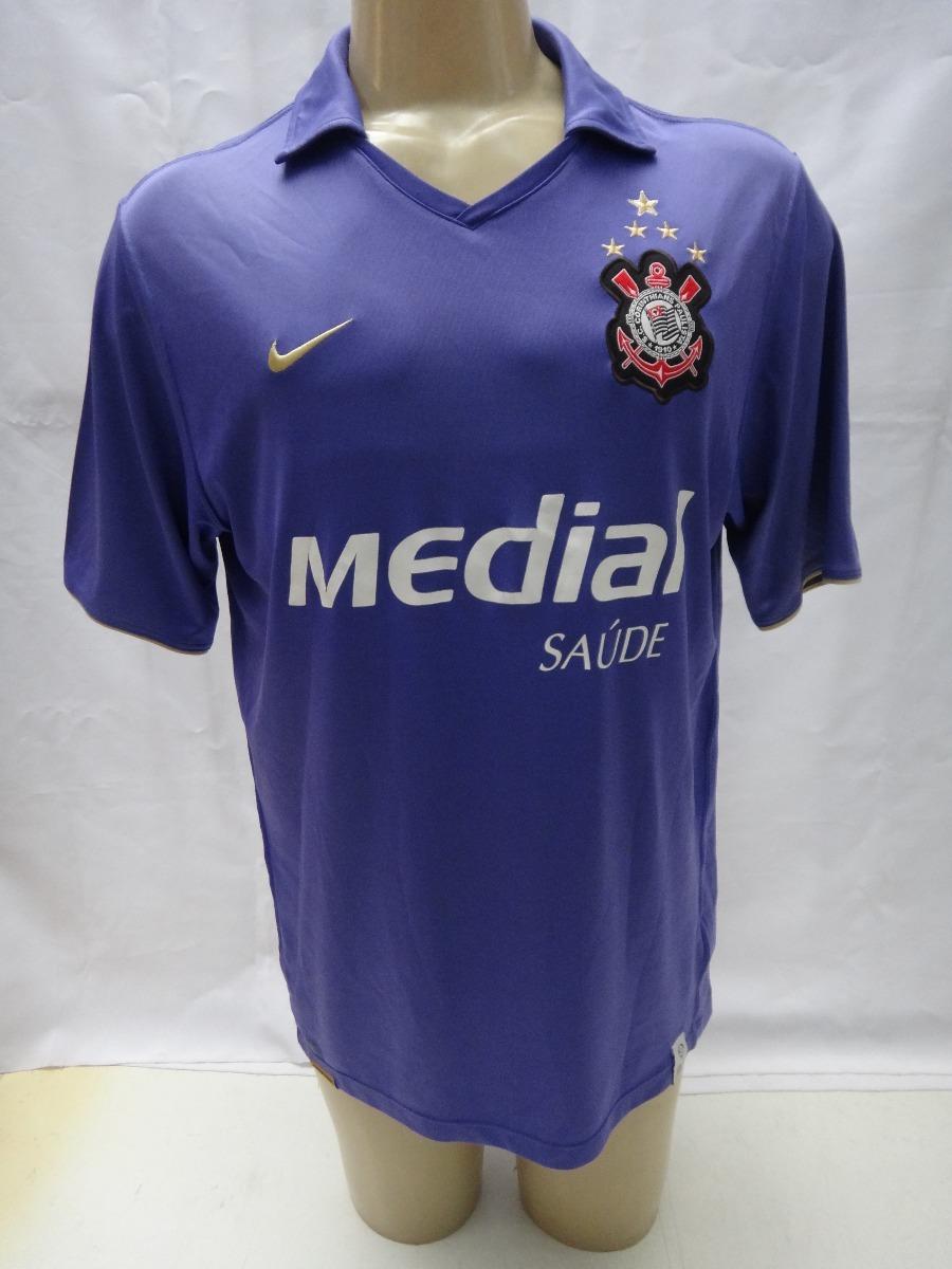 camisa de futebol do corinthians   10 2008 nike medial roxa. Carregando  zoom. 57ac8d22808c6