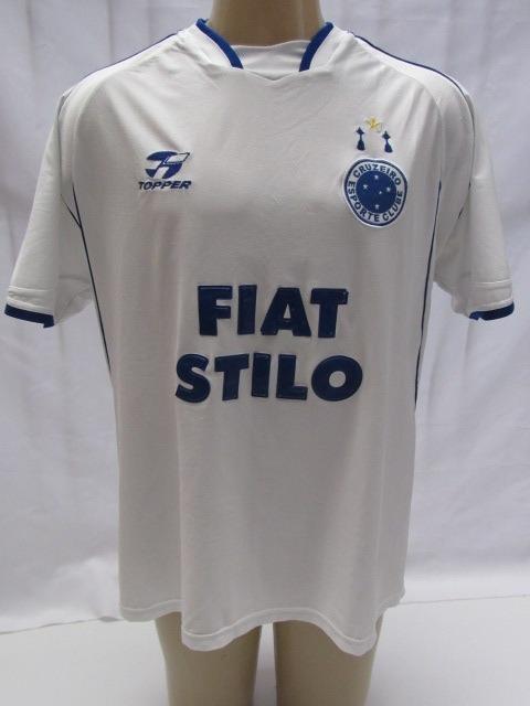 e66834d27e Camisa De Futebol Do Cruzeiro 2003 Topper Fiat Stilo  11 Mc7 - R ...