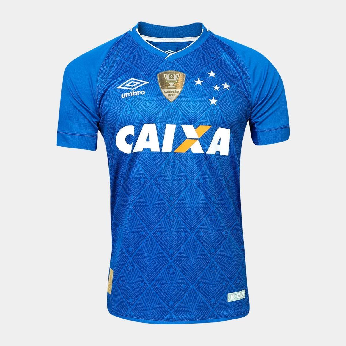 camisa de futebol do cruzeiro 2018 (copa 2018). Carregando zoom. 94f54860eb7cf