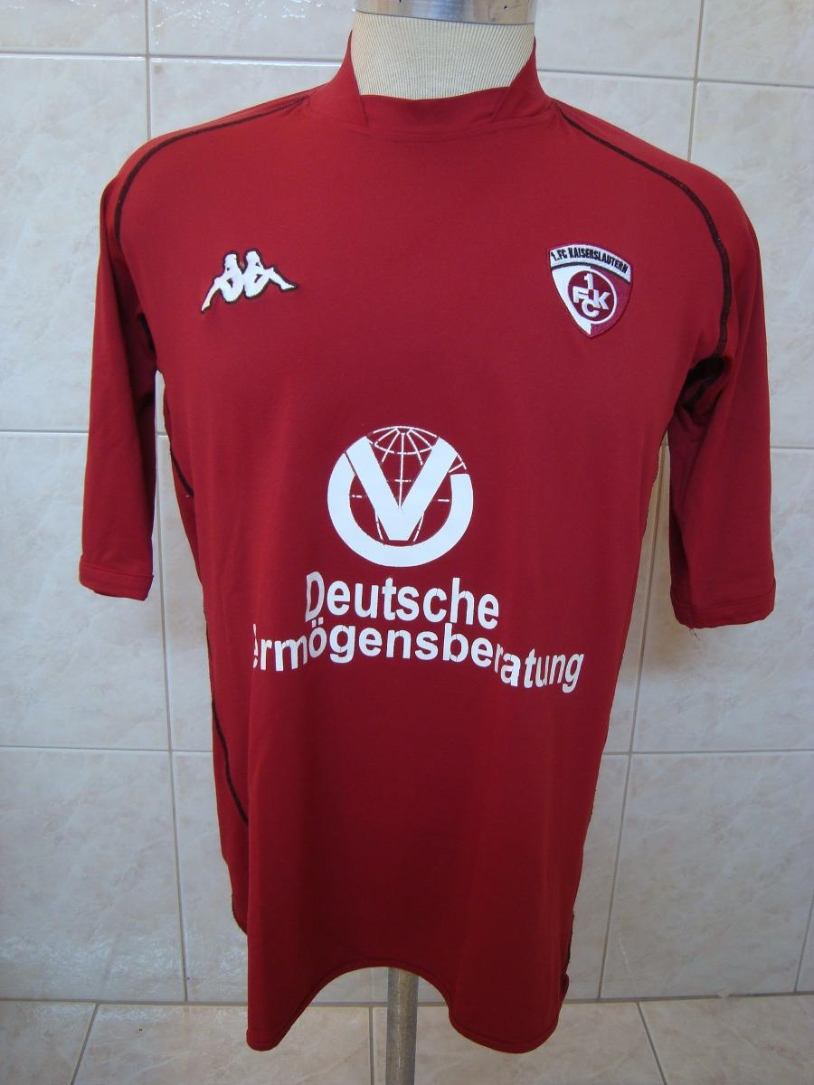 camisa de futebol do fc kaiserslautern da alemanha kappa. Carregando zoom. 533bee0e966f4