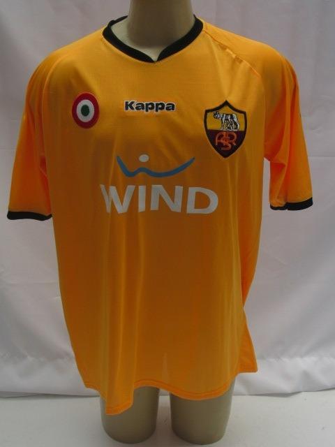 bb4abe7523a84 Camisa De Futebol Do Roma Da Italia -  3 Cicinho - Laranja - R  159 ...