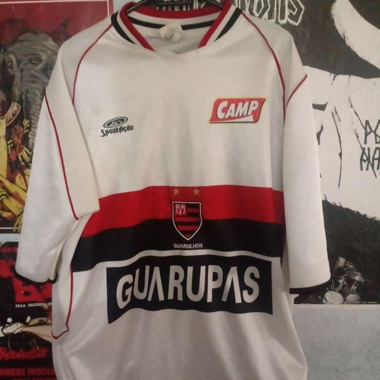 Camisa De Futebol Flamengo (guarulhos) - R  50 b1b28299582f9