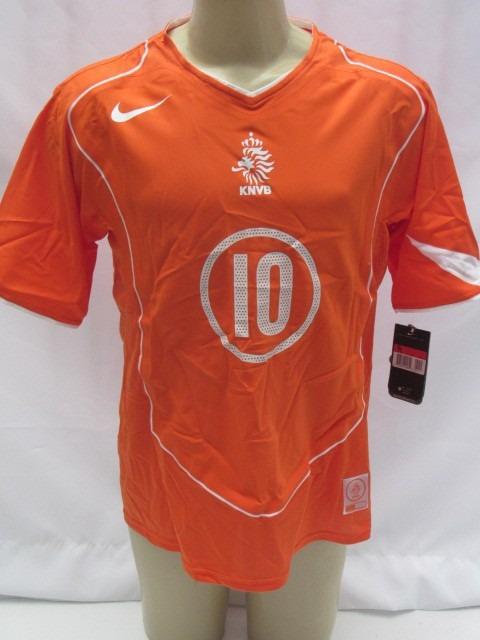 44c8df7098 Camisa De Futebol Holanda Edição Limitada Colecionador 04-06 - R ...
